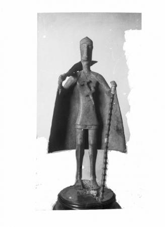 Bronzetto di Capo Tribù, ante 1914