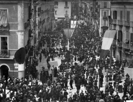 Cagliari, corso Vittorio Emanuele