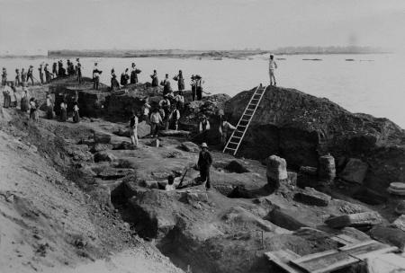 Necropoli, scavi Patroni 1901