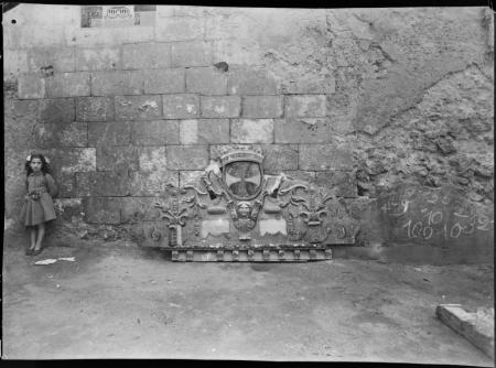 Frammento di altare del XVI secolo