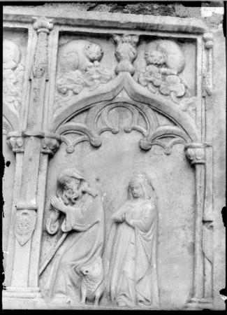 Frammenti scultorei del secolo XIV