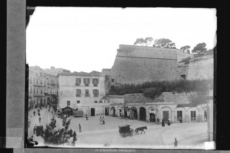 Bastione della Zecca e Bastione dello Sperone, ante 1899