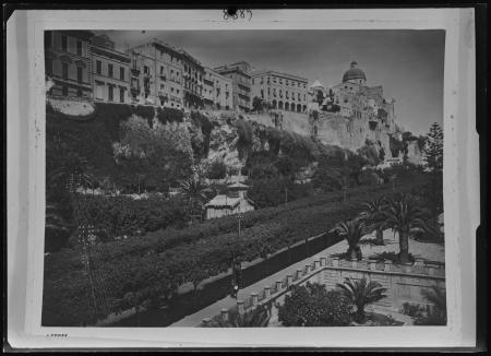 Viale Regina Elena, Vivaio Municipale e Cattedrale, post 1935