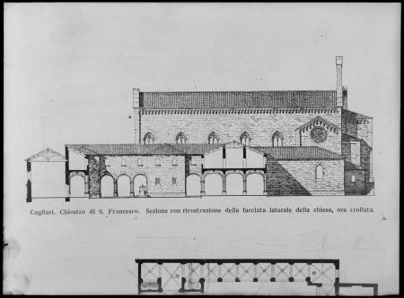 Cagliari, Chiostro della Chiesa di San Francesco